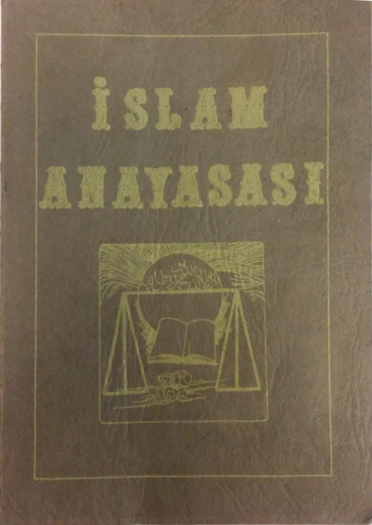 Islam Anayasası Kitapçığını Okumak Için Tıklayınız?